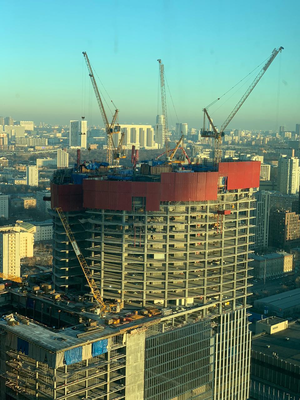 Защитные сетки для строительных площадок